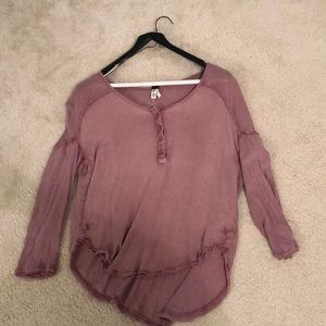 Long sleeve free people top!